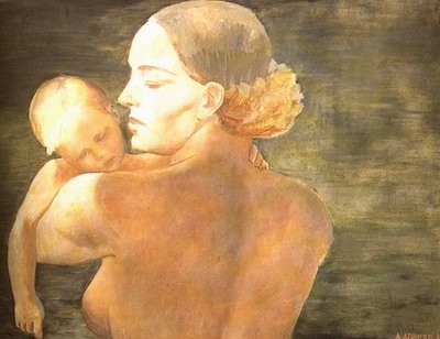 A A Deineka - Mother - 1932