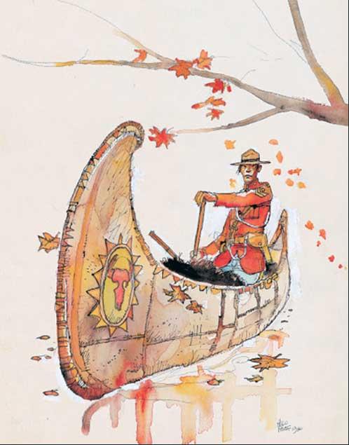 HP_canoe_mountie