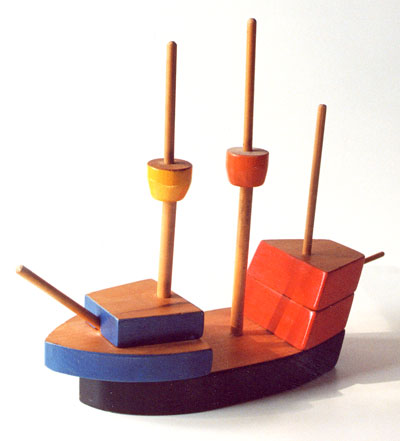 Toy-galleon
