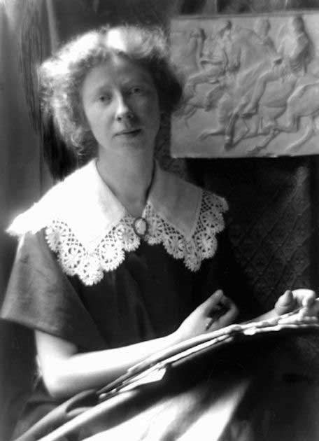 ImogenCunningham_SelfPortrait_1910
