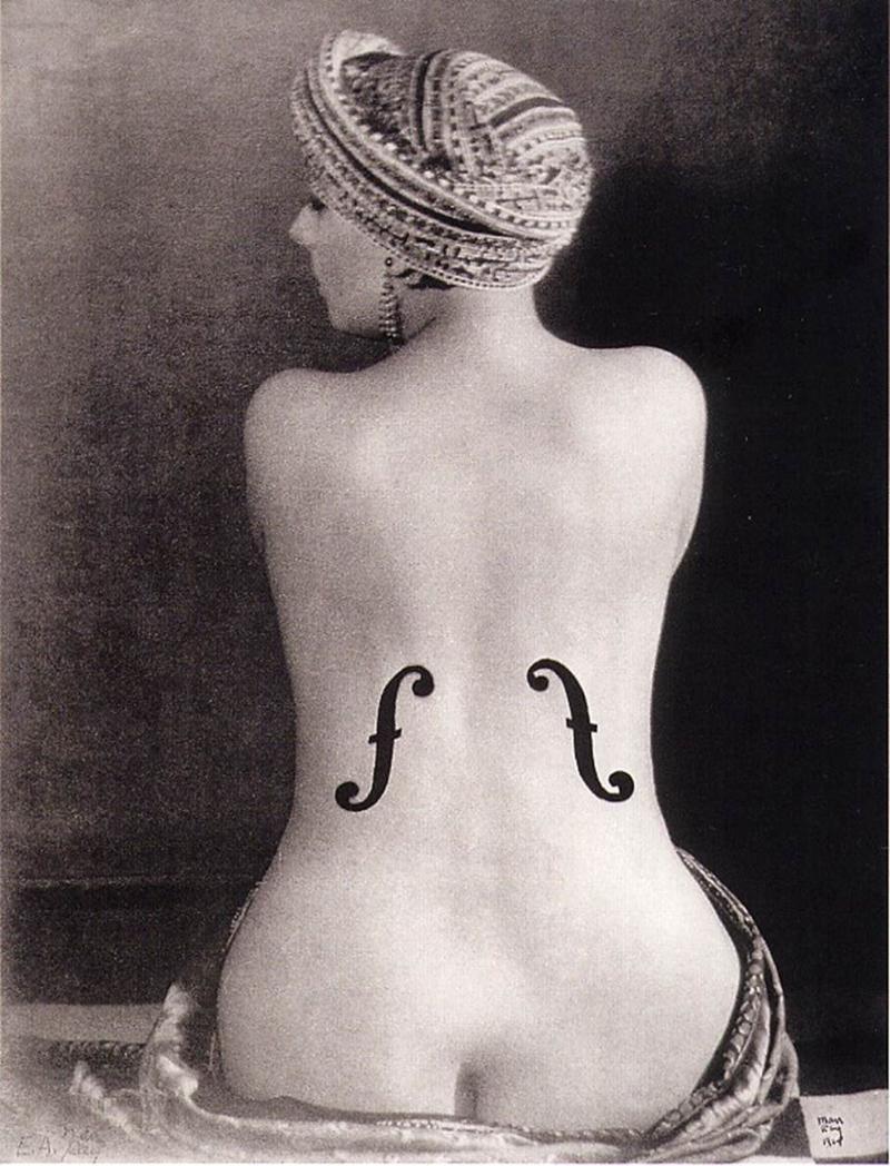 ManRay_LeViolin_d'Ingres_1924