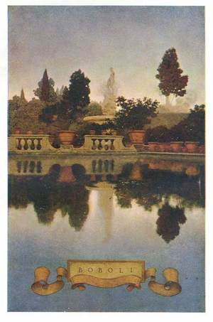 100 Years Of Illustration Maxfield Parrish Edith